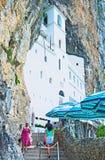 中世纪修道院 库存图片