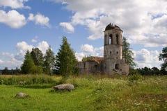 中世纪修道院ortodox废墟 库存照片
