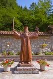 中世纪修道院Raca -塞尔维亚 免版税库存图片