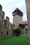 中世纪入口塔 免版税库存图片
