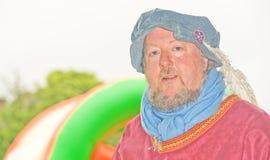 中世纪公平的骑士的marymas 库存图片