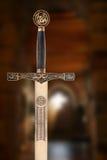 中世纪剑 免版税图库摄影