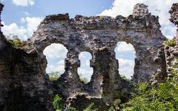 中世纪古老的城堡 库存照片