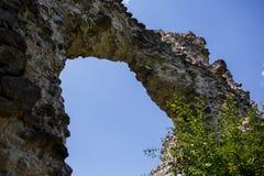 中世纪古老的城堡 免版税库存照片