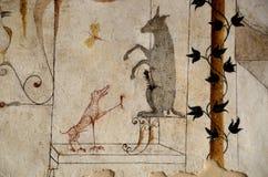 中世纪图画 免版税库存图片