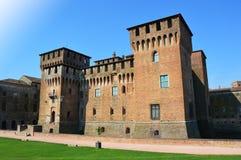 中世纪圣乔治城堡在曼托瓦曼托瓦,意大利 库存图片