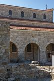 中世纪圣洁四十个受难者教会在市大特尔诺沃,保加利亚 免版税库存图片