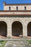 中世纪圣洁四十个受难者教会在市大特尔诺沃,保加利亚 图库摄影