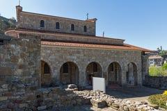 中世纪圣洁四十个受难者教会在市大特尔诺沃,保加利亚 库存图片