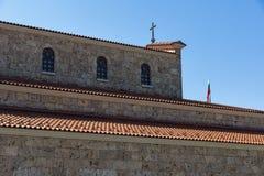 中世纪圣洁四十个受难者教会在市大特尔诺沃,保加利亚 库存照片