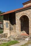 中世纪圣洁四十个受难者教会在市大特尔诺沃,保加利亚 免版税图库摄影