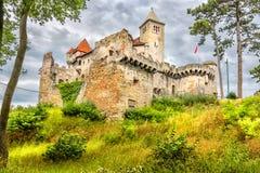 中世纪城堡在奥地利 免版税库存图片