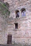 中世纪城堡在马罗斯蒂卡在威岑扎在威尼托(意大利) 库存照片