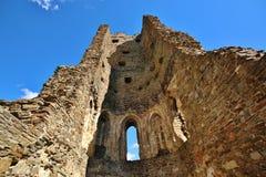 中世纪城堡废墟 免版税库存照片