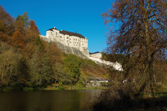 中世纪城堡捷克Sternberk 库存图片