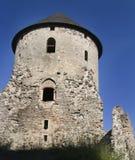 中世纪城堡的cesis 免版税库存照片