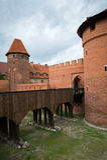 中世纪城堡马尔堡 图库摄影