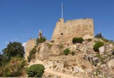 中世纪城堡, 10世纪,帕拉福利斯, 库存图片