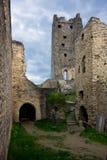 中世纪城堡破坏Okor 库存图片