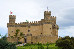 中世纪城堡 图库摄影
