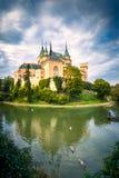 中世纪城堡Bojnice 免版税图库摄影
