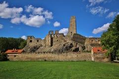 中世纪城堡Okor 免版税库存图片
