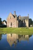 中世纪城堡Radboud,梅登布利克,荷兰 库存图片