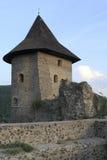 中世纪城堡Somoska的塔 库存照片