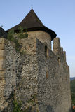 中世纪城堡Somoska的废墟 库存图片