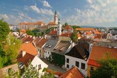 中世纪城市捷克克鲁姆洛夫 免版税库存照片