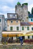 中世纪城镇 免版税库存照片
