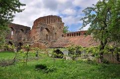 中世纪堡垒在特兰西瓦尼亚 免版税库存照片