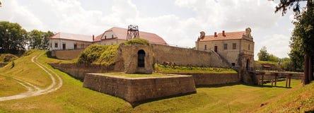 中世纪堡垒在Zbarazh 库存照片