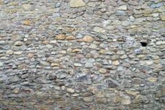 中世纪堡垒墙壁纹理 免版税库存照片