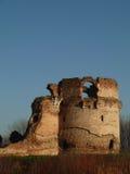 中世纪堡垒废墟在塞尔维亚 免版税库存照片