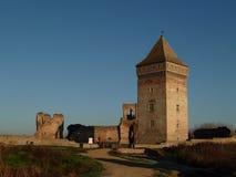 中世纪堡垒废墟在塞尔维亚 免版税库存图片