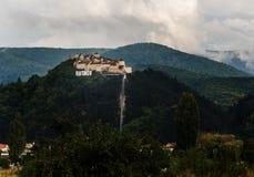 中世纪堡垒- RASNOV 免版税图库摄影