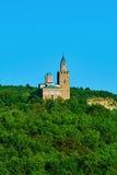 中世纪堡垒Tsarevets 图库摄影