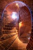 中世纪塔在Helsingborg,瑞典人叫Karnan 库存图片