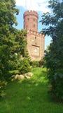 中世纪塔在Kamien Pomorski,波兰 库存照片