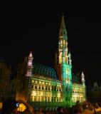 盛大地方在布鲁塞尔 免版税图库摄影
