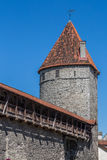 中世纪塔 免版税库存图片