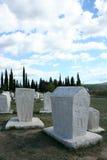 中世纪墓碑 免版税库存图片