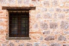 中世纪墙壁窗口 免版税库存图片