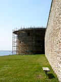 中世纪墙壁 免版税库存图片