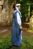 中世纪妇女 免版税库存图片