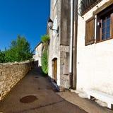 中世纪市阜在法国 免版税库存照片
