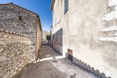 中世纪市阜在法国 库存图片