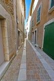 中世纪市阜在法国 库存照片
