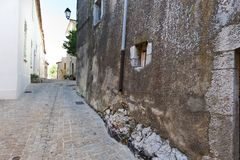 中世纪市阜在法国 免版税库存图片